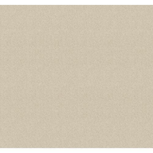 Suiting Weave (York Wallcoverings AB2136 Nautical Living Herringbone Wallpaper, Ecru/Tan)