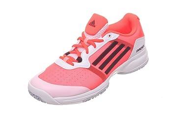 adidas Sonic Court W Padel OC - Zapatillas para Mujer, Color Blanco/Rosa/