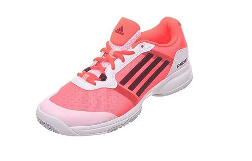adidas Sonic Court W Padel OC - Zapatillas para Mujer, Color Blanco/Rosa/Naranja/Negro, Talla 36: Amazon.es: Zapatos y complementos