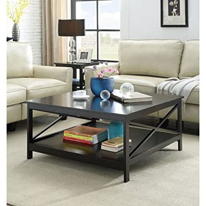 Convenience Concepts Oxford 36u0026quot; Square Coffee Table, ...