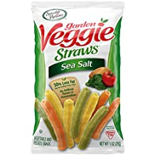 Sensible Portions Garden Veggie Straws, Sea Salt, 1 oz. (Pack of 24)