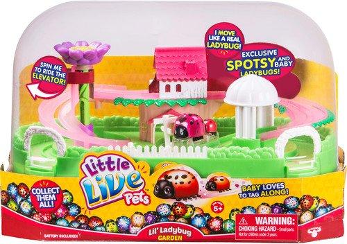 Plush Little Ladybug (Little Live Pets Lil' Ladybug Garden - Spotsy & Baby)