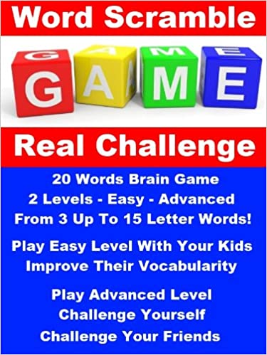 Word Scramble Game Challenge - The Real Brain Challenger!
