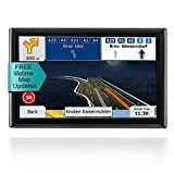 LONGRUF GPS Navigator-7inch&With 16GB of Memory 256MB Processor,Car GPS Navigation With Lifetime-free Maps