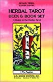 Herbal Tarot Deck-Book Set, Michael Tierra and Candis Cantin, 0880795344