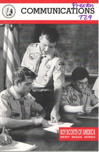 Communications: Boy Scouts of America (Merit Badge Series)