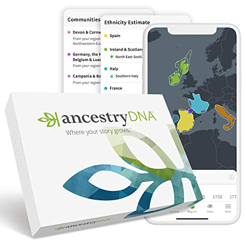 AncestryDNA: Genetic Ethnicity Test (Best Way To Learn Us History)