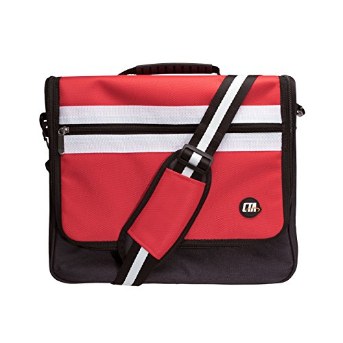 CTA Digital Protective Messenger Bag for Nintendo Switch by CTA Digital