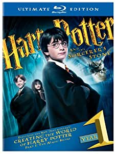 Harry Potter and the Sorcerer's Stone (Three-Disc Ultimate Edition) [Blu-ray]