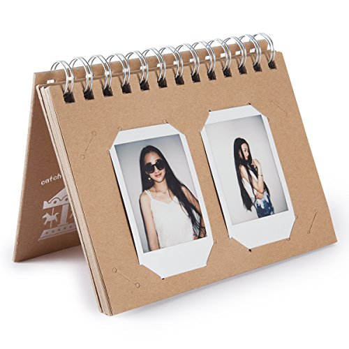 Woodmin Fujifilm Instax Square SQ10 Photo Album, Desk Calendar Frame for Fuji SQ10 Instant films, Instax Mini 8 8+ 9 3-INCH Films - Frame Square Polaroid
