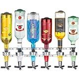 KCHEX New 2017 Wall Mounted 6-Station Liquor Bar Butler Wine Dispenser Machine Drinking Pourer Home Bar Tools for Beer…