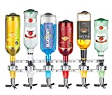New 2017 Wall Mounted 6-station Liquor Bar Butler Wine Dispenser Machine Drinking Pourer Home Bar Tools For Beer Soda Coke Fizzy Soda