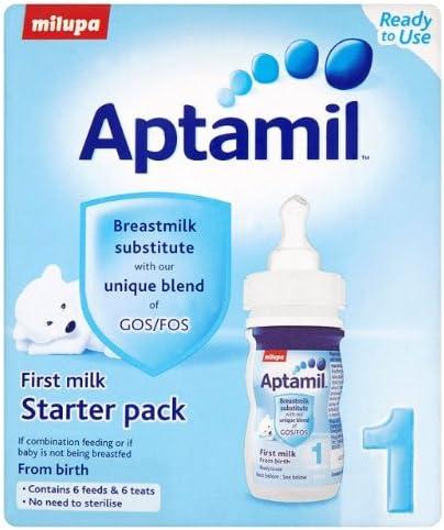 Aptamil 1 First Milk Starter Pack: Amazon.es: Electrónica