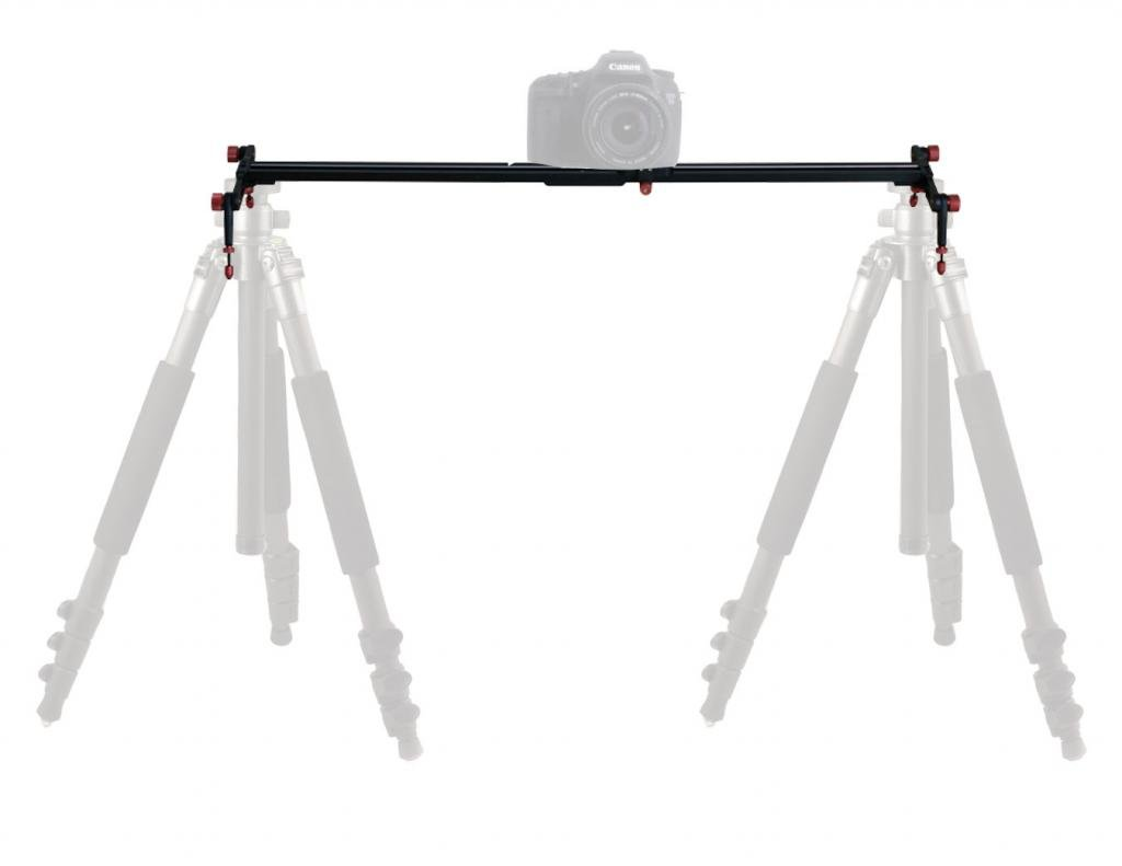 Polaroid 47-Inch Rail Track Slider Video Stabilization System For SLR Cameras and Camcorders by Polaroid