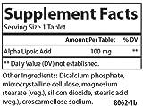 Carlson Alpha Lipoic 100 mg Energy Support Universal Antioxidant 180 Tablets Discount