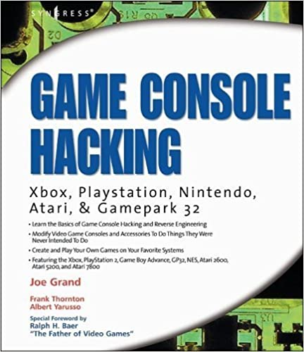 Game console hacking xbox playstation nintendo game boy atari game console hacking xbox playstation nintendo game boy atari and sega xbox playstation nintendo game boy atari sega 1st edition kindle edition fandeluxe Image collections
