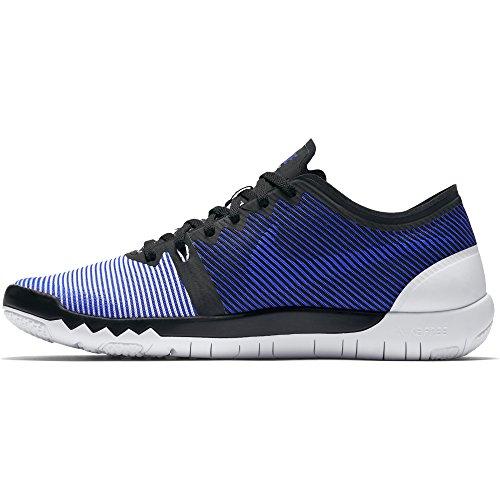Nike Blue White Shoe Trainer Racer 3 Toe 0 Men Round Free Black V4 Synthetic Running 4Zp4qA