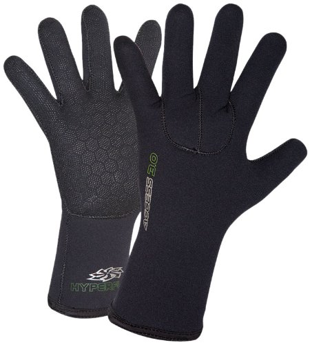 Hyperflex Wetsuits Men's 3mm Access Glove, Black, XX-Large - Surfing, Windsurfing & Wakeboarding