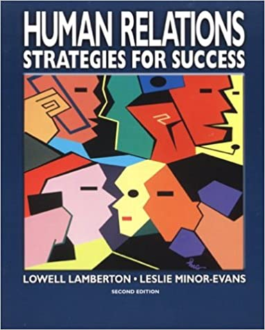 Human Relations: Strategies for Success, Student Text