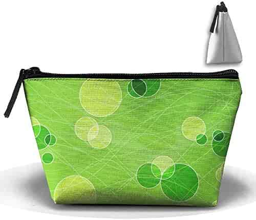 0ad765f75700 Penilatuy Womens Cosmetic Bag Spring Green Multifunction Makeup Portable  Pouch Handbag Receive Bag