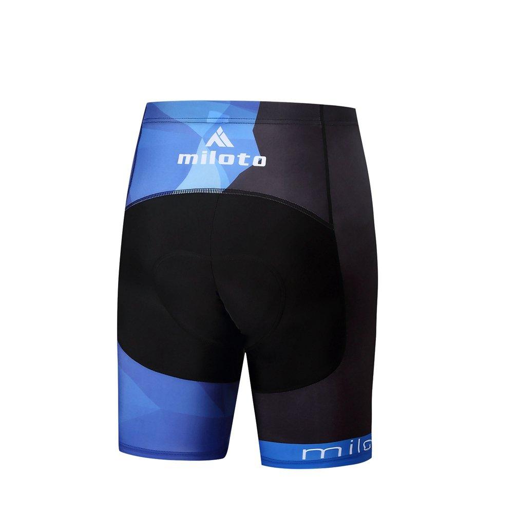 Uriah Mens Cycling Shorts 3D Coolmax Gel Padded