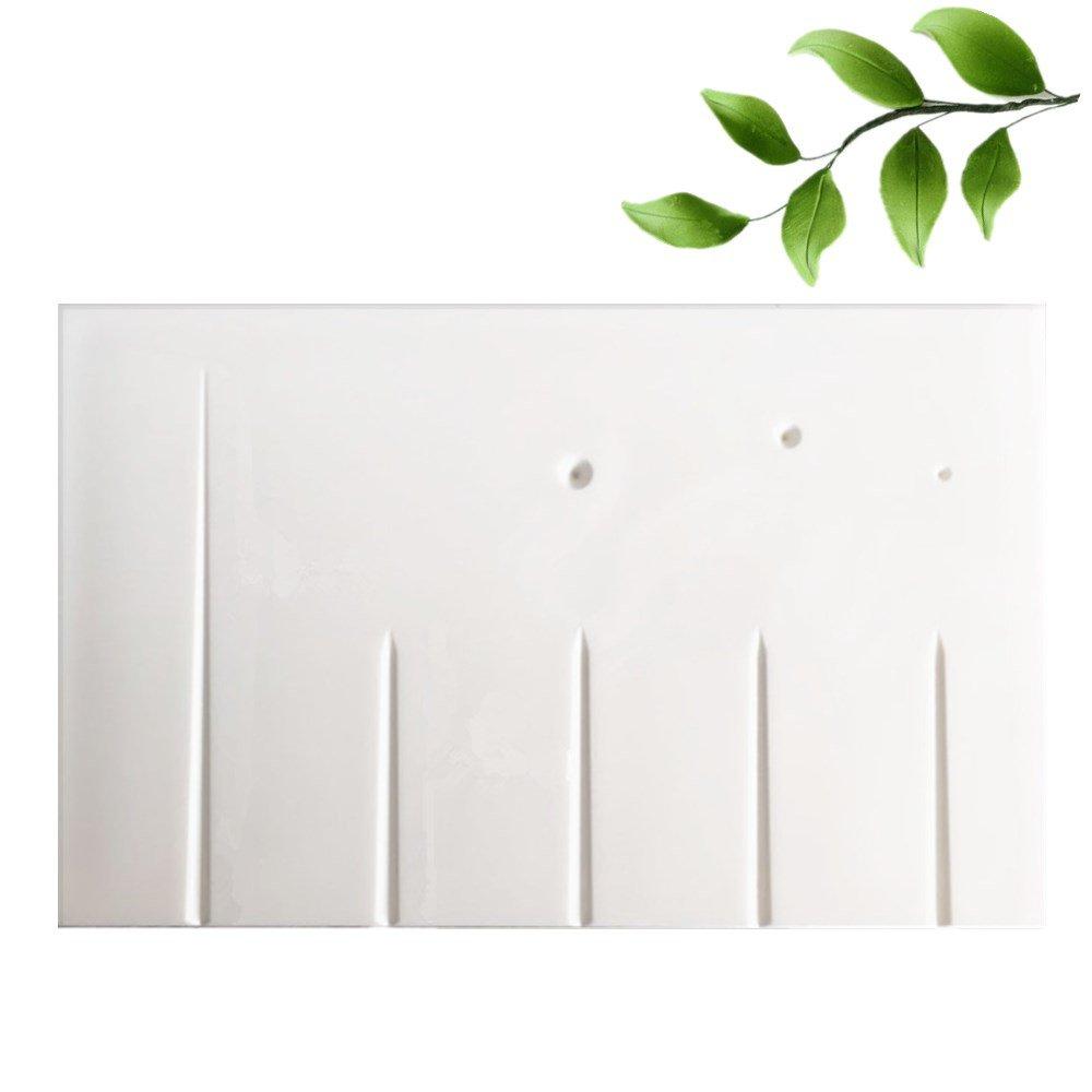 Petal and Leaves Veining Board Fondant Gumpaste Flower Cake Decorating Tools Sugarcraft Flower Tools Color White