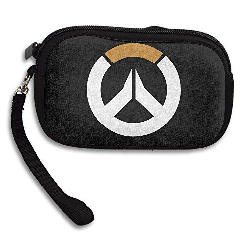 True Blood Costumes Bill (Amurder Overwatch Flag Symbol Fashion Money Wallet Pouch Bag Black)