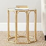 Safavieh Home Collection Muriel Gold Accent Table