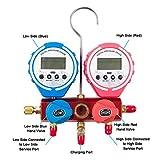Wostore Wireless Digital Pressure Gauge Set