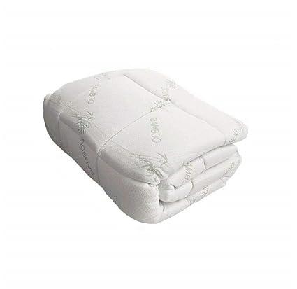 Bambú colchón almohadilla, Snug Fit Topper. Peluche EXTRA, extra suave
