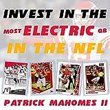 Patrick Mahomes Football Card Bundle, Set of 4