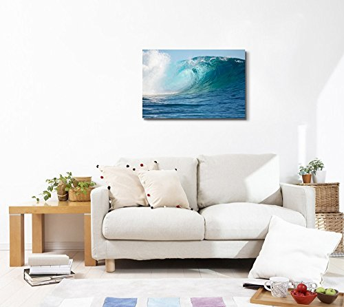 A Big Wave in The Pacific Ocean Wall Decor
