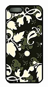 the Foliage Pattern Designs For SamSung Galaxy S4 Mini Phone Case Cover PC Material Black Kimberly Kurzendoerfer