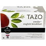 Tazo Awake English Breakfast Keurig Pods, Black Tea, Medium to High Caffeine - (60 Single Serve K-Cups), (Pack of 6)