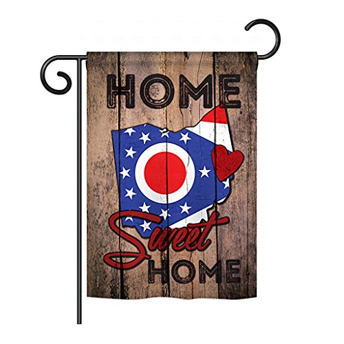 Columbus Flag Ohio - State Ohio Home Sweet Home - Americana States Decoration - 13