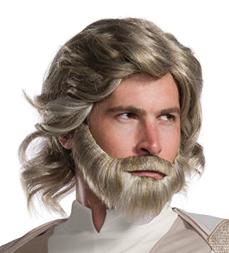 - Rubie's Star Wars Episode VIII: The Last Jedi Men's Luke Skywalker Costume Accessory Kit  NA  One Size