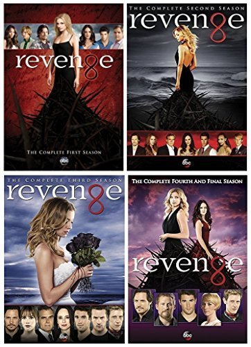 Revenge : Complete Series Seasons 1 - 4 Collection (2015, 20-Disc, DVD)