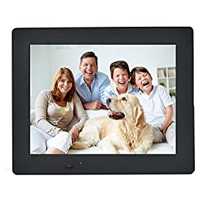 Digital Picture Frame 9.7-Inches by EMOKILI Digital Photo Frame with IPS screen 1024X768 Resolution 720P Video Play