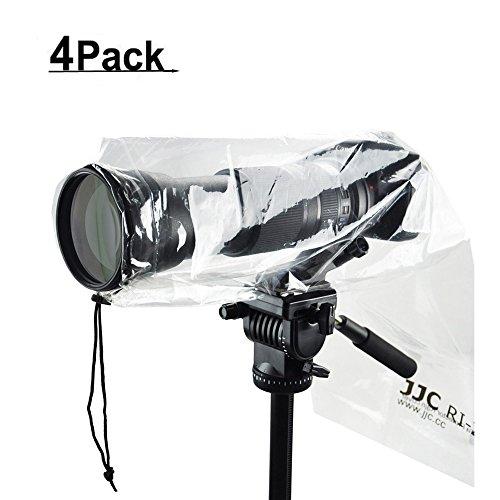 JJC DSLR Camera Rain Cover Rain Coat Rain Sleeve Protector f