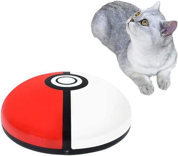 PETHOMEL Suministros para Mascotas Aspiradora con Robot De Barrido De Gatos, Juguete De Juguete para Gatos, Máquina De Depilación Eléctrica para Mascotas, Luz De Color/con Carga USB: Amazon.es: Hogar