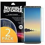 Película RINGKE para Galaxy Note 8, Ringke Invisible Defender Full [Pack 2X][Flexível][Anti Impacto][Case Friendly][Cobre toda a tela], Samsung Galaxy Note 8