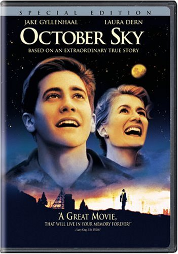 October Sky (Bilingual) Jake Gyllenhaal Chris Cooper Laura Dern Courtney Cole-Fendley