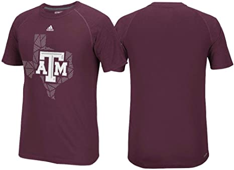 Texas A & M Aggies margen Evade Heather granate Climalite manga larga camiseta de Adidas, hombre Unisex, granate: Amazon.es: Deportes y aire libre