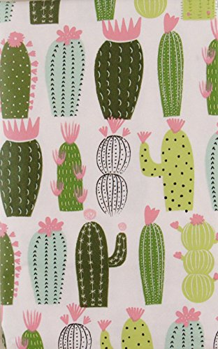 Table Desert Cactus (Desert Cactus Abstract Collection Vinyl Flannel Back Tablecloth (52