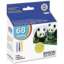 EPST068520 - Epson No. 68 Tri Color Ink Cartridge
