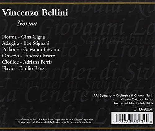 VINCENZO-BELLINI-NORMA-V-A-2-CD-IMPORT-BRAND-NEW-STILL-SEALED thumbnail 2
