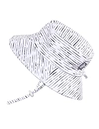 Twinklebelle Baby Toddler Kids Sun Hat, Size Adjustable, 50 UPF Cotton Cotton