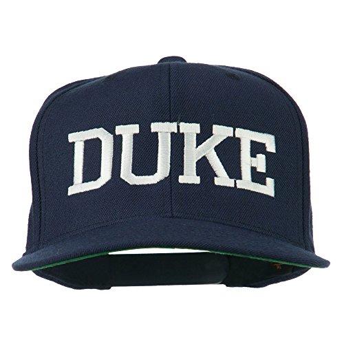 Halloween Character Duke Embroidered Snapback Cap - Navy OSFM -