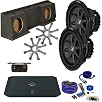 Kicker GMC 99-06 Sierra CVR102 10 Truck Bundle with DUBA1450 900 Watt Amplifier + Enclosure + Wire Kit