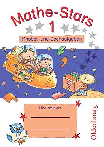 Mathe Stars   Knobel  Und Sachaufgaben  1. Schuljahr   Übungsheft  Mit Lösungen